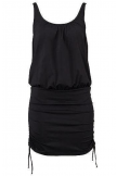 FORMING RUCHED ONEPIECE SWIMDRESS
